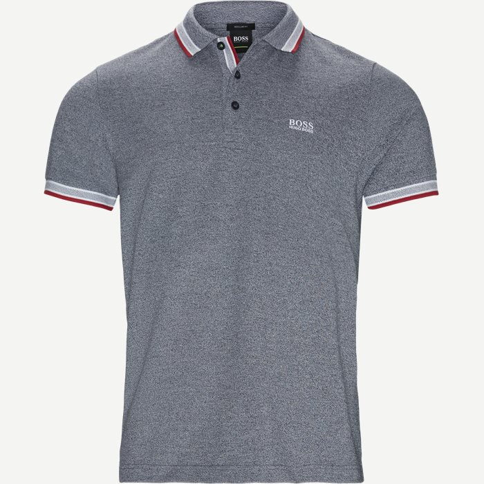 Paddy Polo T-shirt - T-shirts - Regular - Blå